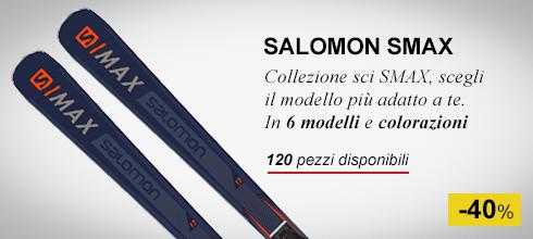Collezione sci salomon smax -40%
