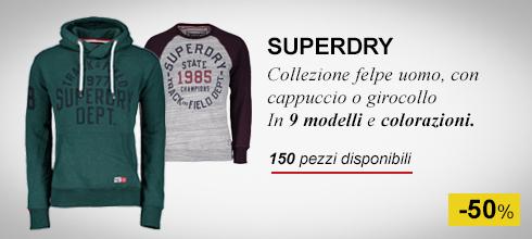 Felpe uomo Superdry -50%