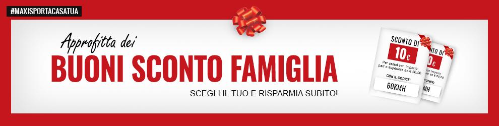 Buoni famiglia Maxi Sport