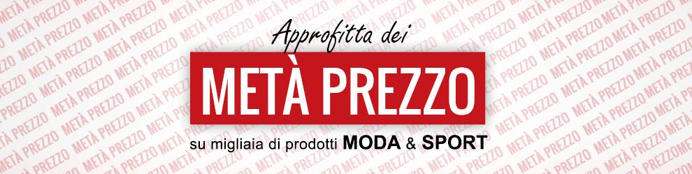 Speciale selezione dei 20 migliori brand a Metà Prezzo