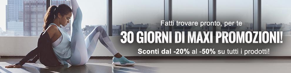 Approfitta di 30 giorni di Maxi Promozioni