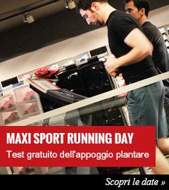 Scopri le date dei prossimi Maxi Sport Running Day.