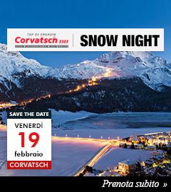 Prenota il tuo posto per la Corvatsch Snow Night del 19/2