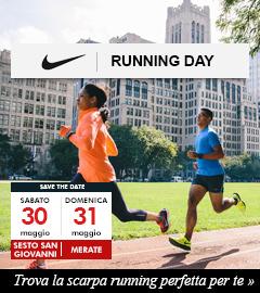 Partecipa ai Nike Running Day del 30/31 maggio nei Punti Vendita Maxi Sport