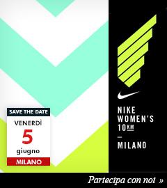 Partecipa con la Crew Maxi Sport alla Nike Women's 10km di Milano 2015