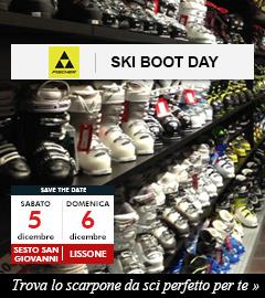 Scopri gli Ski Boot Day nei Punti Vendita Maxi Sport