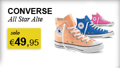 Converse All Star Alte a soli €49,95