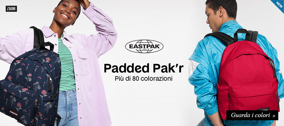 Nuova collezione zaini Eastpak Padded Pak'r 2021
