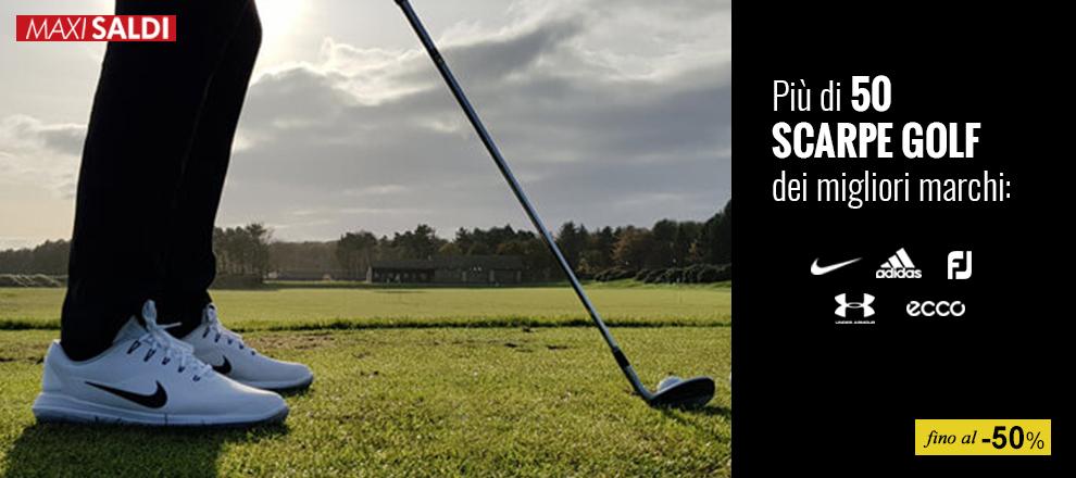 Saldi anticipati scarpe golf