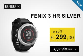 Garmin Fenix 3 HR 299,00 euro