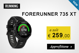 Garmin Forerunner 735 XT a soli 259,00 euro