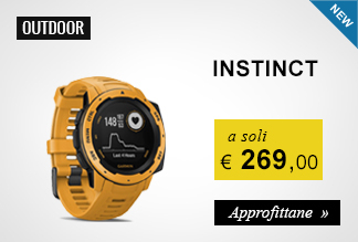 Garmin Instinct a soli 269,00 euro