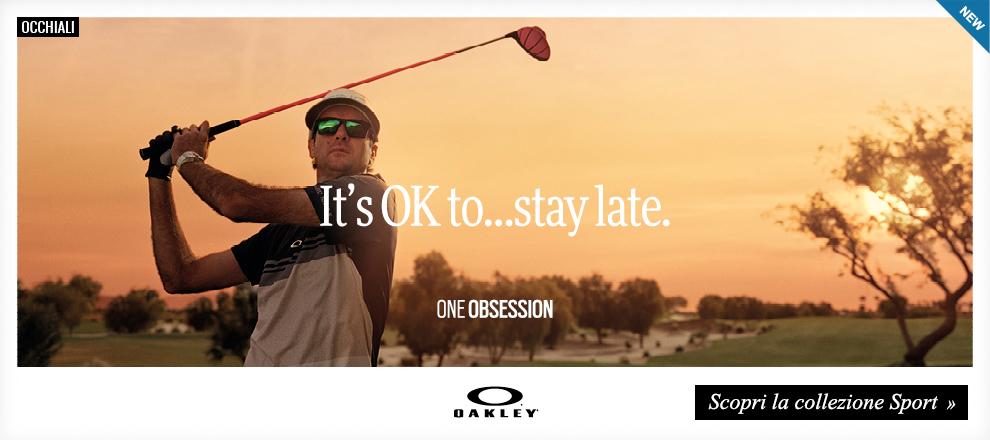 Collezione Occhiali Oakley sportivi