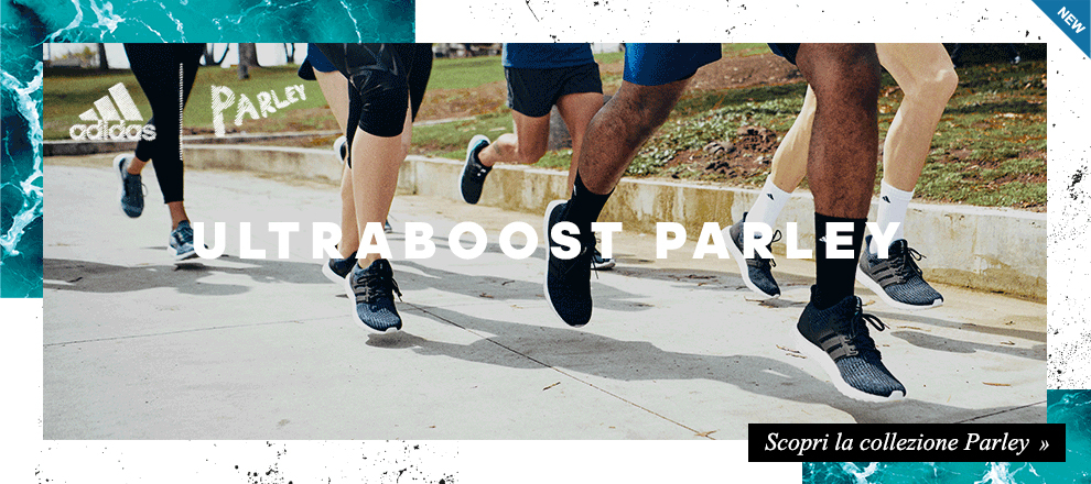 Nuova collezione adidas Parley for the oceans: adidas Ultraboost Parley
