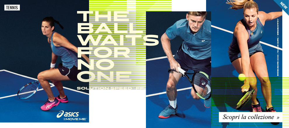 Collezione Asics Tennis