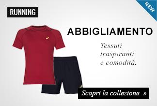 Nuova Collezione Abbigliamento Running