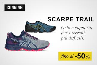 Scarpe Trail Running fino al -50%
