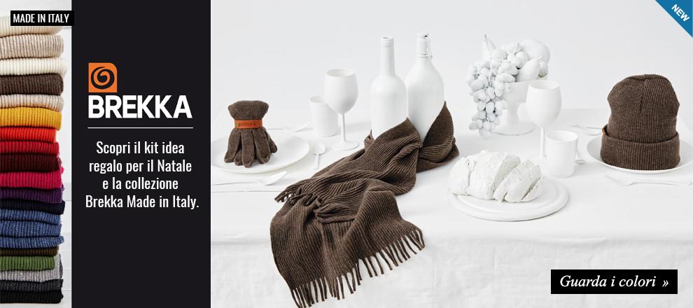 Collezione Brekka Milano Made in Italy Autunno Inverno 2016