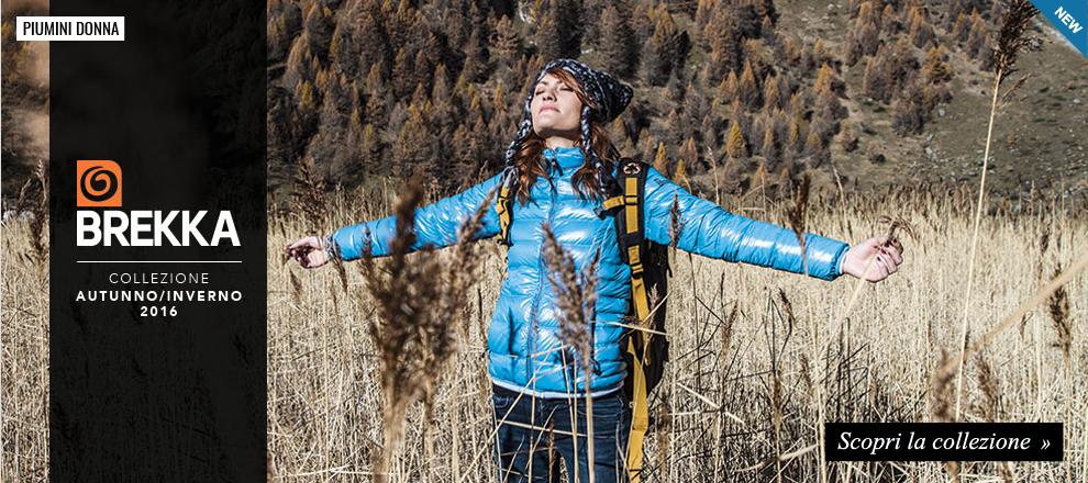 Collezione Brekka Piumini Donna Autunno Inverno 2016