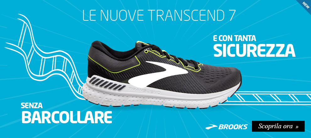 Nuova Brooks Transcend 7