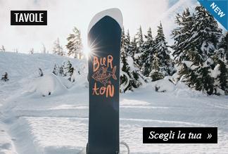 Nuova Collezione Burton Snowboard Tavole