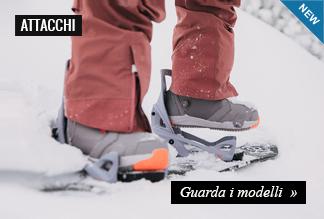 Nuova Collezione Attacchi Snowboard Burton