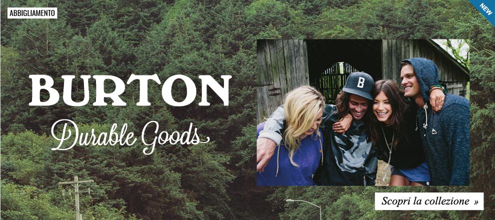 Burton - Collezione Abbigliamento 2016