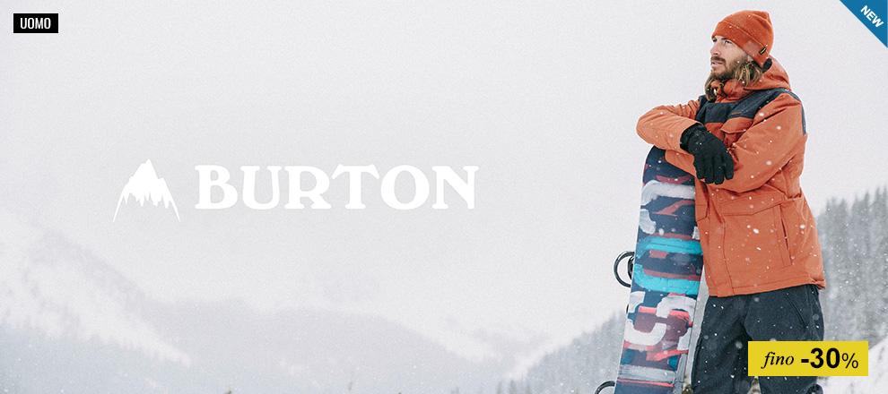 Burton - Collezione Uomo fino -30%