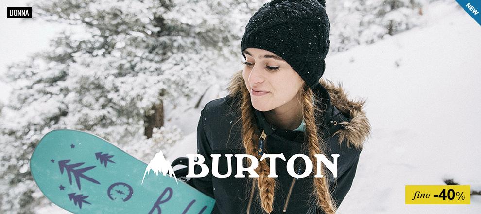 Burton - Collezione Donna 2016/17