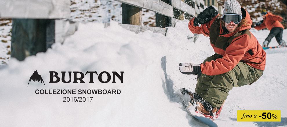 Burton - Collezione 2016/17 fino -40%