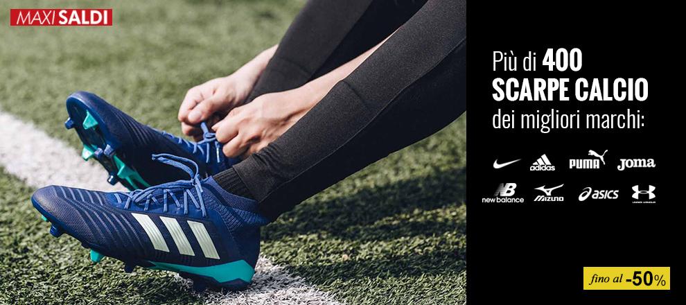 Saldi anticipati scarpe calcio