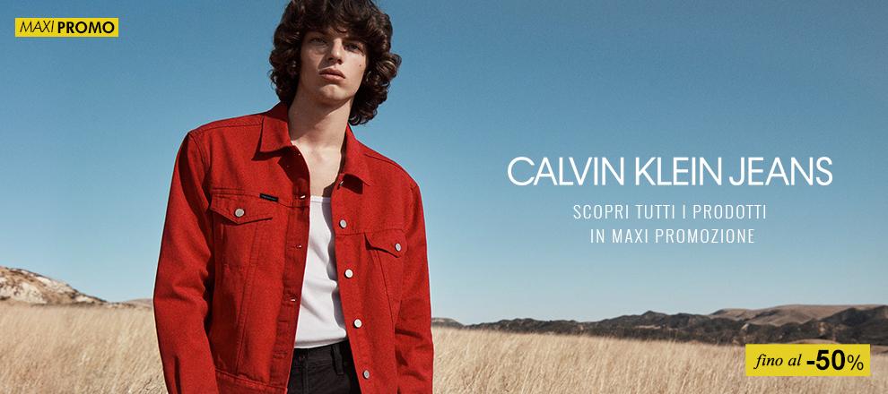 Collezione abbigliamento Calvin Klein in maxi Promozione