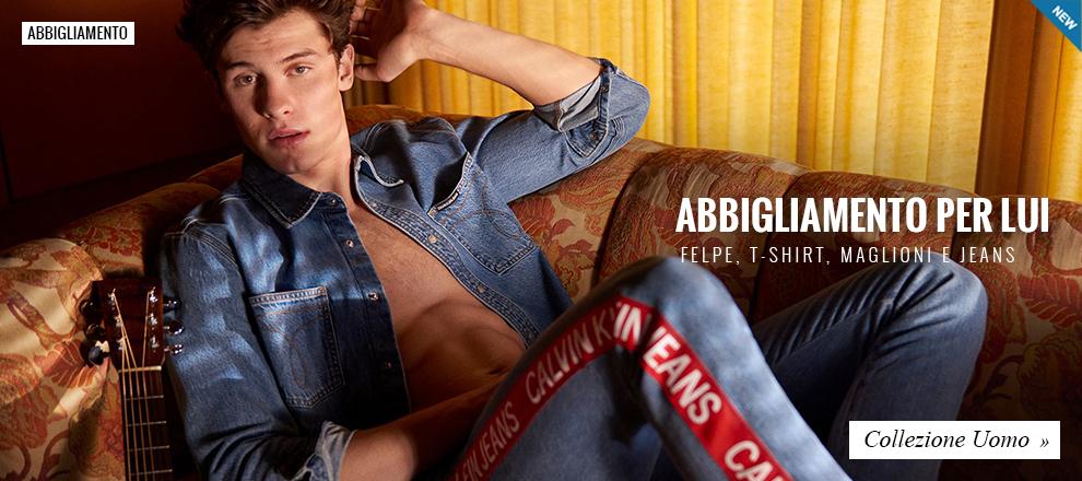 Collezione abbigliamento Calvin Klein Uomo