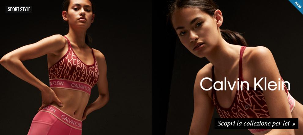 Sport Style Donna Calvin Klein