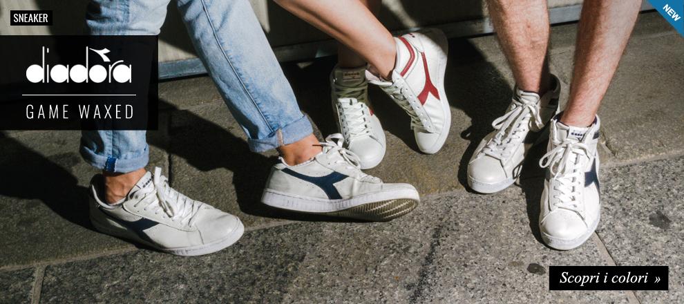 Nuova collezione sneaker Diadora Game Waxed