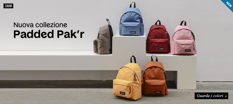 Nuova collezione Eastpak Padded Pak'r 2015/16