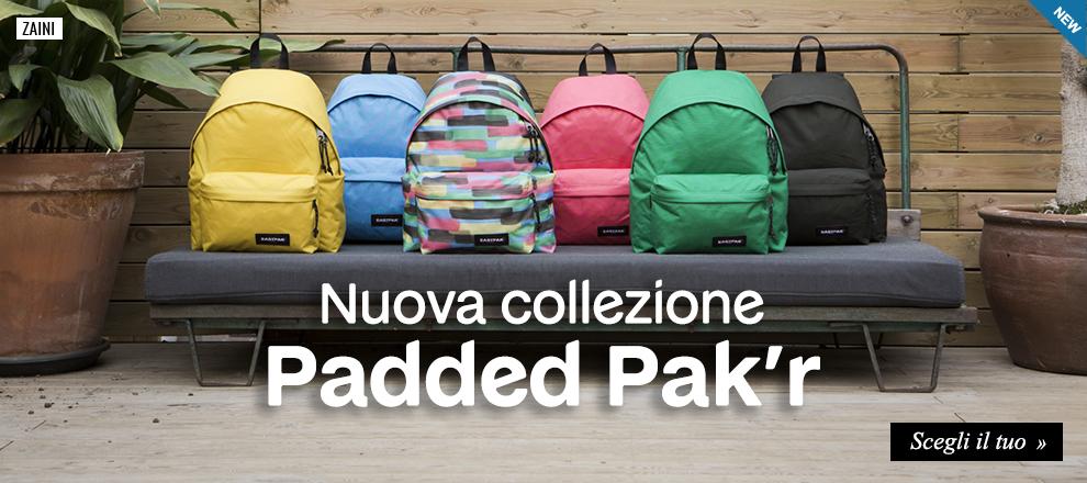 Nuova collezione zaini Eastpak Padded Pak'r 2018/19