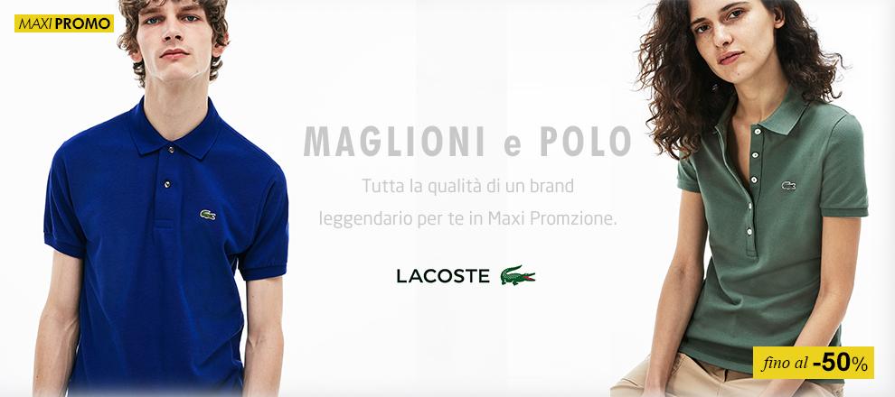separation shoes 48bcf 0b8a8 Lacoste Polo e Abbigliamento | Maxi Sport