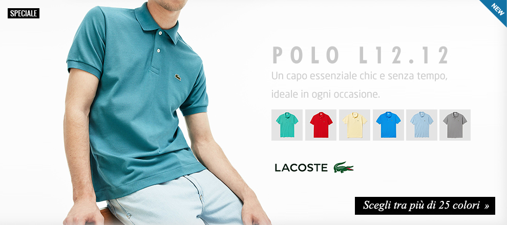 the latest 55c9c 8960c Lacoste - Speciale Polo L1212