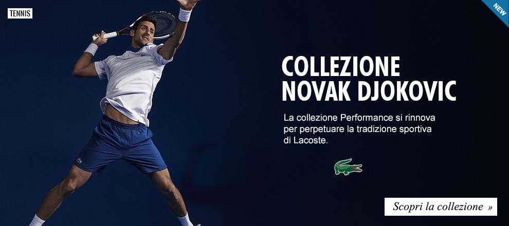 Lacoste -  Collezione Tennis Novak Djokovic