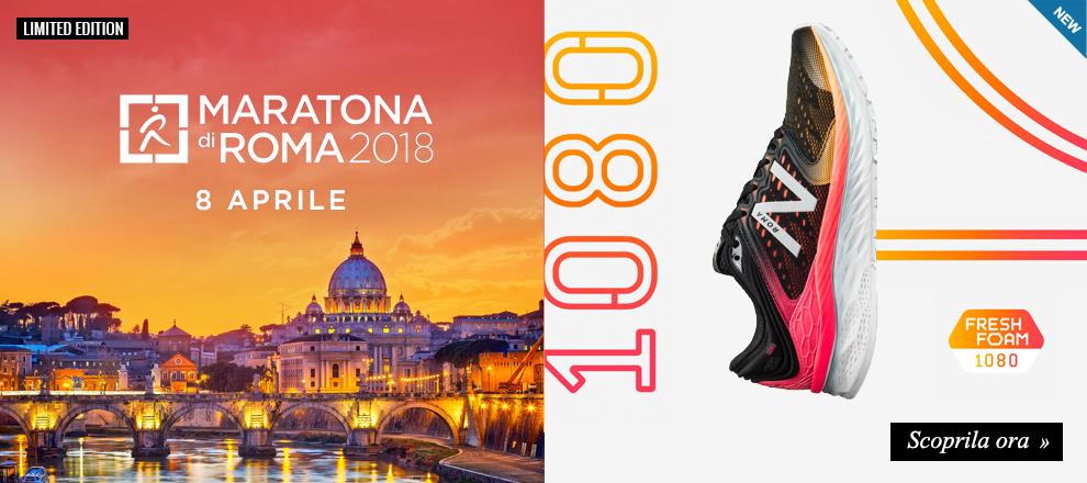 Scarpe running New Balance 1080 Maratona di Roma