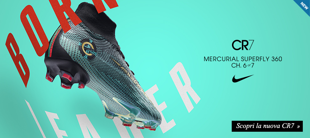 Nuova Mercurial CR7 Born Leader