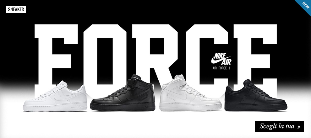 Sneaker Nike Air Force 1 per uomo, donna e bambino