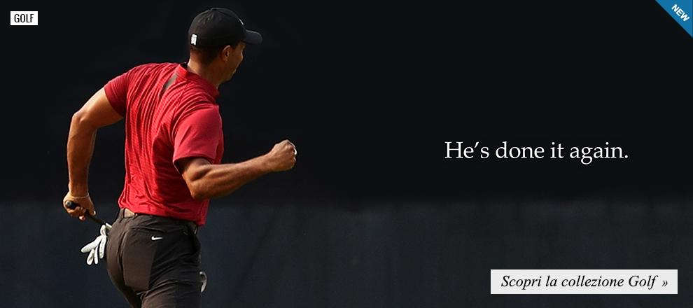 Nuova collezione Nike Golf