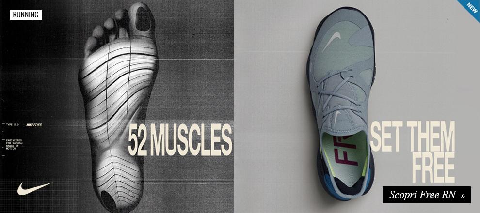Nuova Nike Free RN