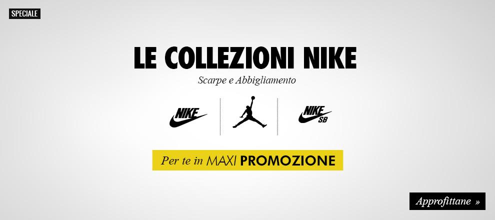 Collezioni Nike in Maxi Promozione