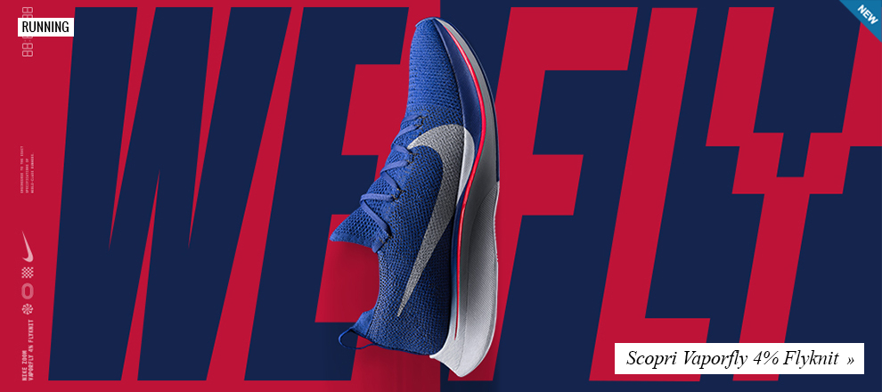 Esclusiva Running: Nike Vaporfly 4% Flyknit