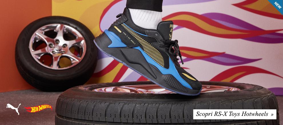 Nuova collezione Puma R-S Toys Hotwheels