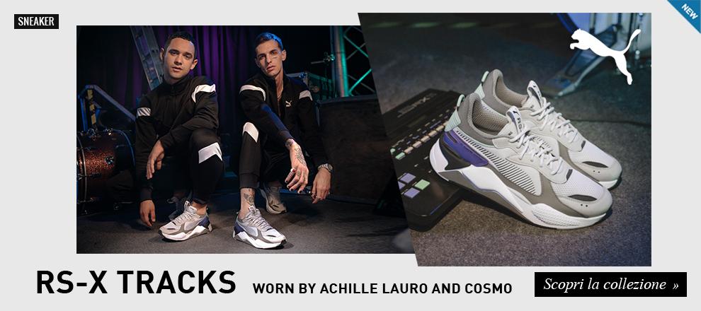 74abd3a675bec Sneaker Puma RS-X Tracks Achille Lauro e Cosmo