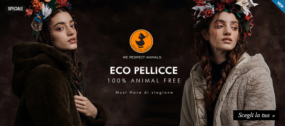 Nuova collezione Eco Pellicce Save the duck